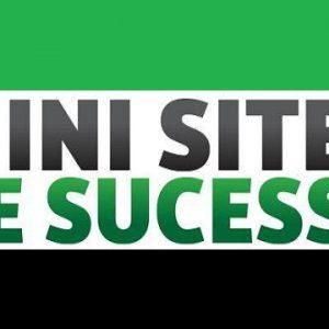 Mini Sites de Sucesso Funciona 3